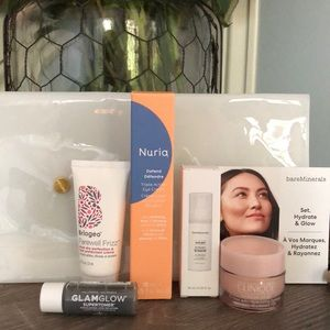 NWT 5 Piece Beauty Bundle with Pouch